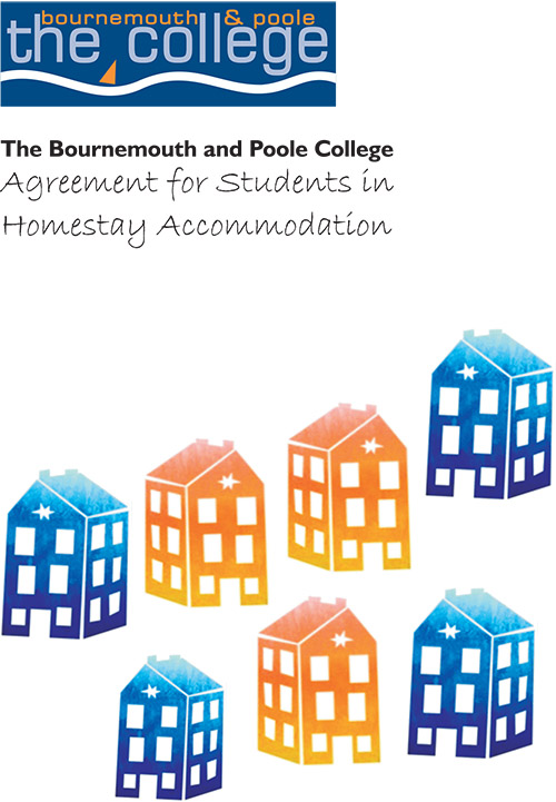Homestay Accommodation – Agreement for Students Booklet