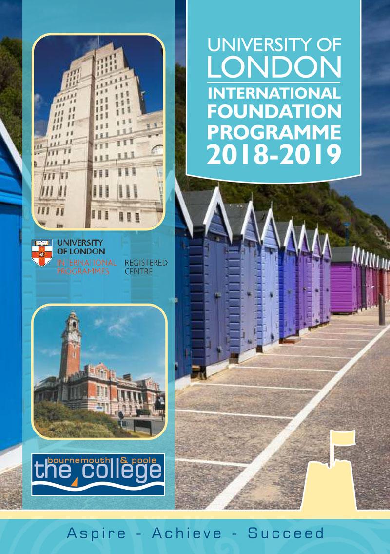 University of London International Foundation Programme guide