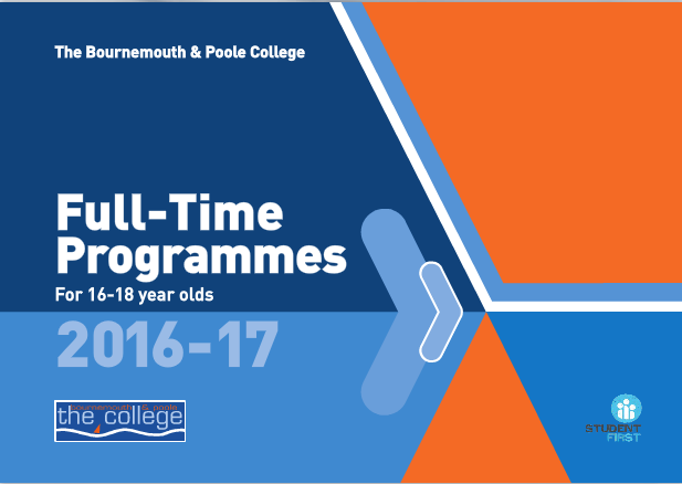Full-time vocational programmes at The College