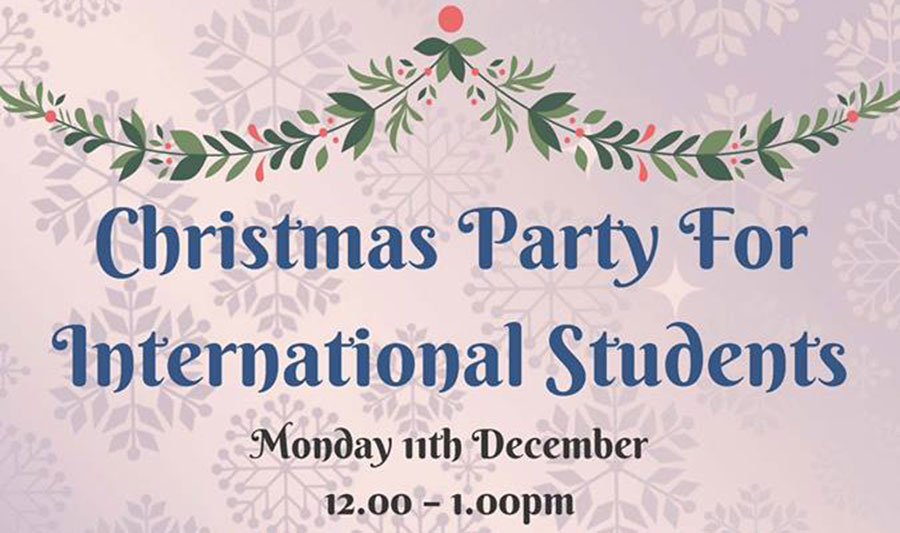 Christmas Party for International Students