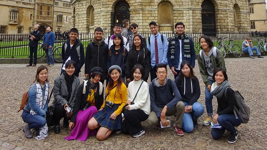 Oxford Trip, October 2017