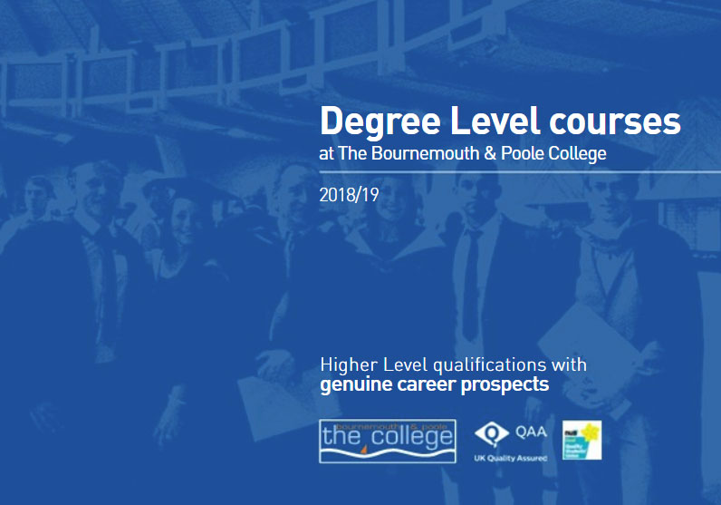View the Higher Education Degree Level Course Guide