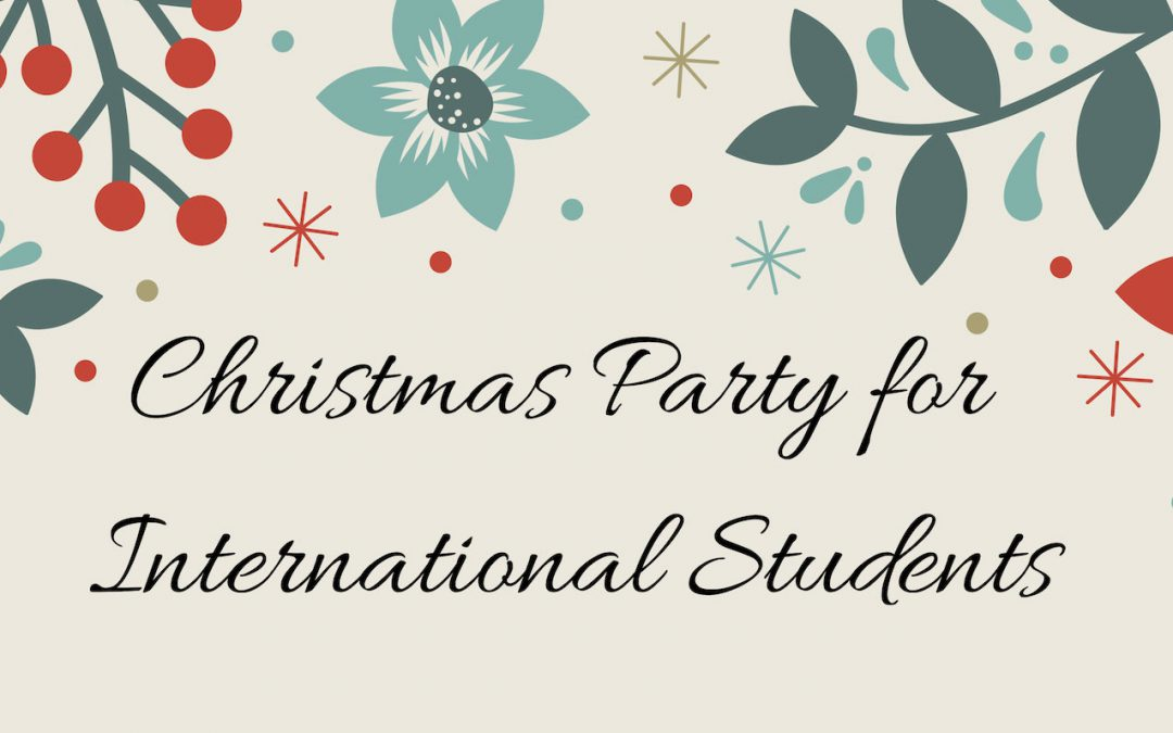 International Students Christmas Party 2018