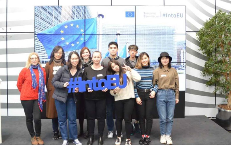 Trip to the European Commission in Brussels