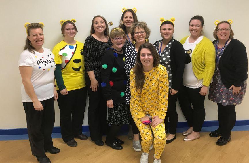 College Care Department raise money for charity