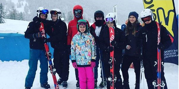 Uniformed Public Services students on ski trip to Italy