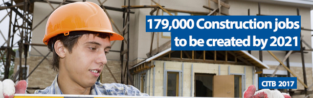 179,000 construction jobs to be created in UK, Dorset, Bournemouth, Poole