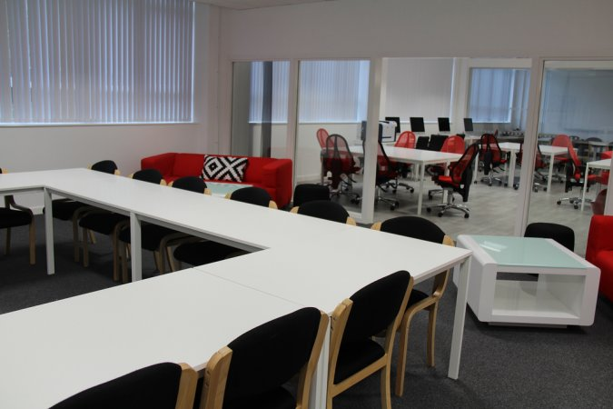Brand new facilities bournemouth and poole college for Academy salon cobham