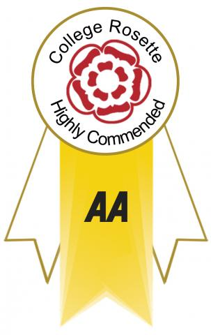 AA Rosette Highly Commended logo