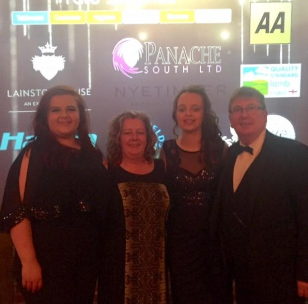 College joy at recent Institute of Hospitality Student Awards