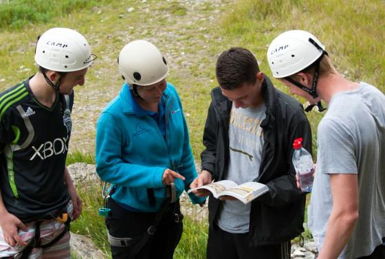 Students orienteering and leadership