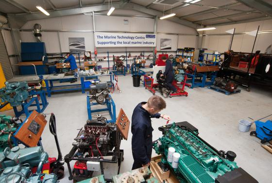 Marine Technology Centre at Bournemouth & Poole College