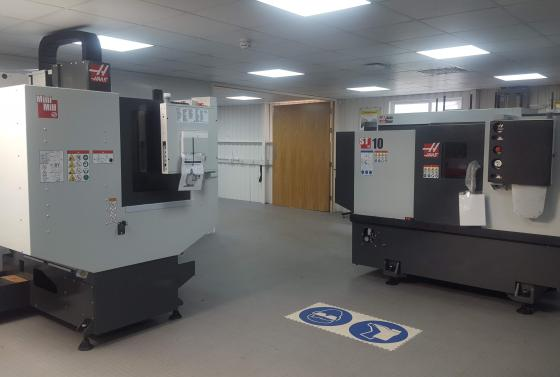 CNC Machines at Bournemouth & Poole College