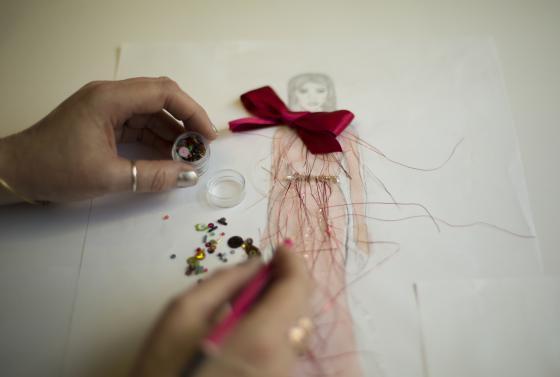 Artist using craft for Dorset Arts Prize