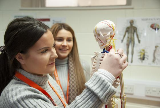 Health and Medical Science students at Bournemouth & Poole College