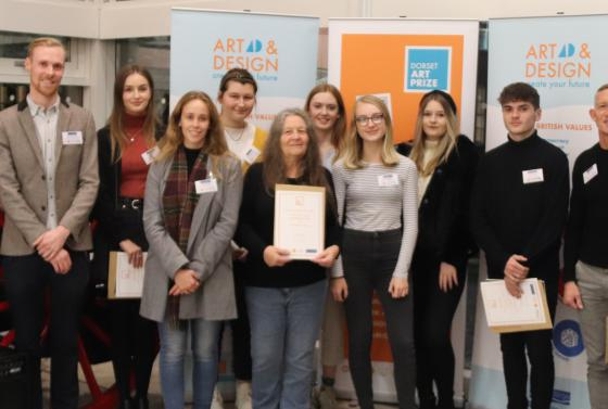 Winners of the Dorset Art Prize at Poole Museum