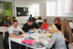 Adults learners at The Bournemouth & Poole College