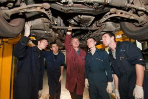 Motor Vehicle Apprenticeships at The Bournemouth & Poole College