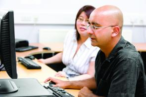 English and maths adult learners at The Bournemouth & Poole College
