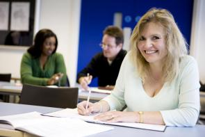 Adult Students learning at The Bournemouth & Poole College