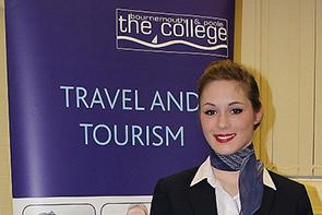 A travel and tourism student