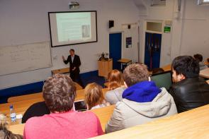 Business Lecture at Bournemoutn & Poole College