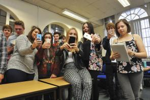 Digital marketing apprentices applying to the Bournemouth and Poole College