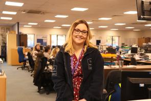Lauren, HR Apprentice