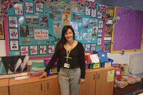 Karen Hines, Bournemouth & Poole College Childcare student