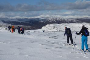 Skiing trip to Scotland