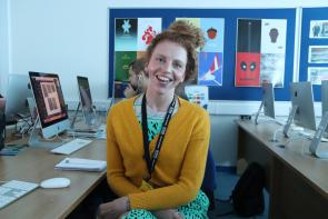 Sarah Rixon, Access to Media Student at Bournemouth & Poole College