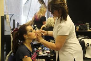 Hair and theatrical media make up show