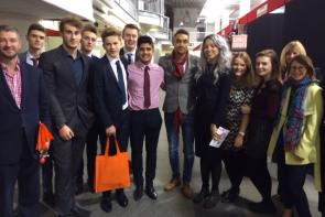 Bournemouth & Poole College Business and Enterprise students