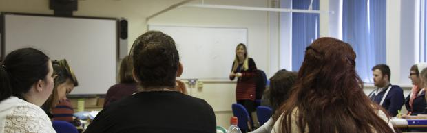 Classroom with students at Bournemouth & Poole College