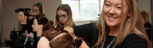 Hairdressing at Bournemouth & Poole College