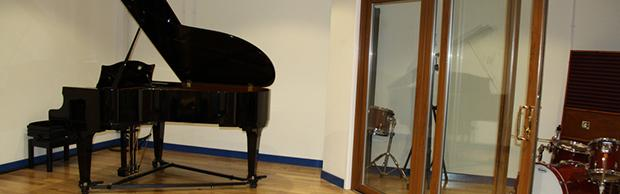 Music rehearsals room