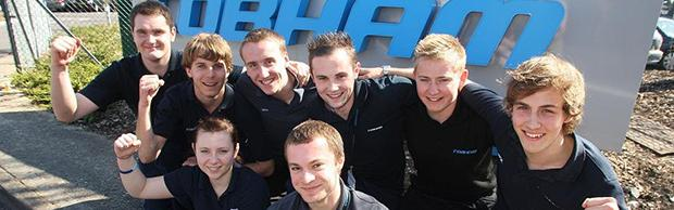 Apprentices at Cobham