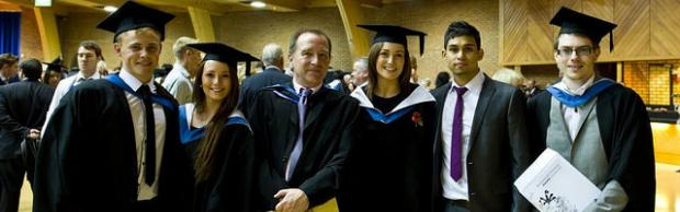 Bournemouth & Poole College students graduating