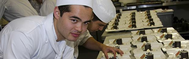 Junior Chefs in Escoffier