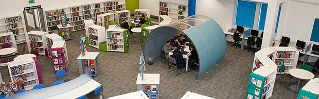 New Learning Resources Centre at The Bournemouth & Poole College, North Road