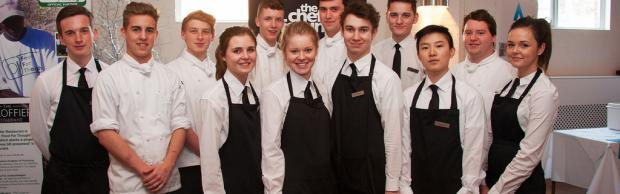 Hospitality and catering students