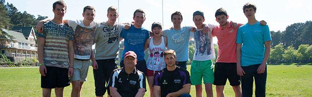 College rugby team