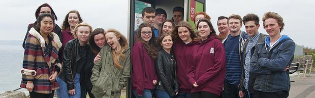 The Bournemouth & Poole College Sixth Form students